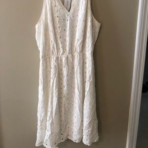 Market and Spruce white dress